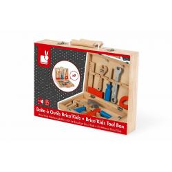 Набор инструментов Janod «Brico'Kids» в чемоданчике , фото , изображение 7