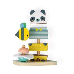 "Пирамидка ""Мишка с пчелкой""; серия Скандинавские мотивы, фото , изображение 5"