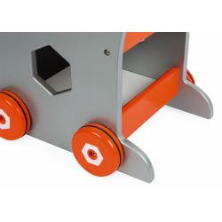 Тележка-каталка Janod «Brico'Kids» с набором магнитных инструментов: 25 аксессуаров , фото , изображение 9