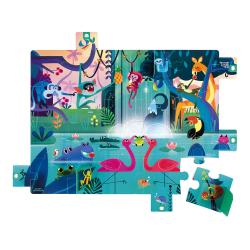 Пазл с сюрпризом «Вечеринка в джунглях»; 20 элементов, фото