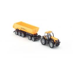 SIKU Трактор с прицепом-кузовом, желт. (1:87), фото