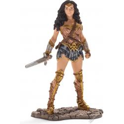 SCHLEICH Герой комиксов, Чудо-женщина (Бэтмэн и Супермэн) (прикреплён к опорной подставке) 22527, фото