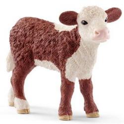 SCHLEICH Герефордский теленок 13868, фото