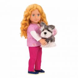 "Кукла 46 см Анаис-ветеринар, серии ""Профессия"", фото"
