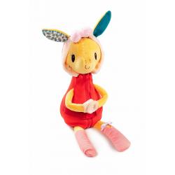 Развивающая игрушка Lilliputiens «Жирафик Зиа»; серия «Одень меня!» , фото , изображение 2