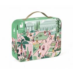 Пазл «Ботанический Сад» в прямоугольном чемоданчике; 200 элементов, фото , изображение 2