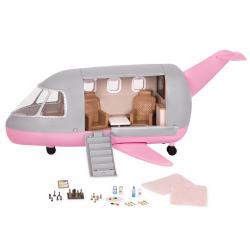 Игровой набор Lori «Самолёт» с аксессуарами , фото , изображение 2