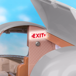 Игровой набор Lori «Самолёт» с аксессуарами , фото , изображение 3