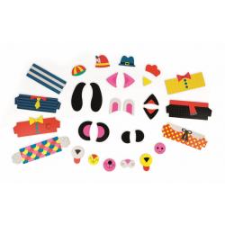"""Пазл магнитный """"Животные"""": 30 элементов и 6 карточек, фото , изображение 5"""