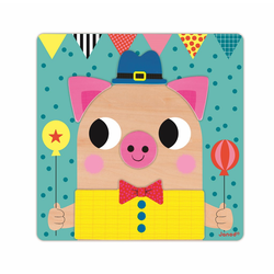 """Пазл магнитный """"Животные"""": 30 элементов и 6 карточек, фото , изображение 9"""