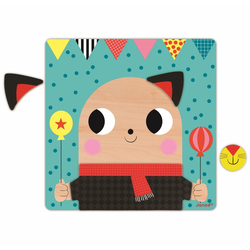 """Пазл магнитный """"Животные"""": 30 элементов и 6 карточек, фото , изображение 10"""
