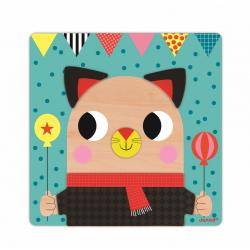 """Пазл магнитный """"Животные"""": 30 элементов и 6 карточек, фото , изображение 11"""
