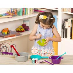 Набор игрушечной посуды для готовки, фото
