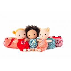 """Кукла мягкая """"Ари"""" в переноске, фото , изображение 6"""