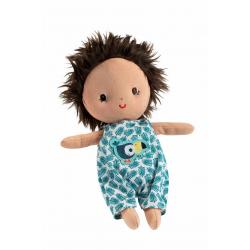 """Кукла мягкая """"Ари"""" в переноске, фото , изображение 3"""