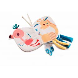 """Книжка-игрушка мини """"Фламинго Анаис"""", фото , изображение 2"""