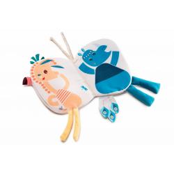 """Книжка-игрушка мини """"Фламинго Анаис"""", фото , изображение 3"""