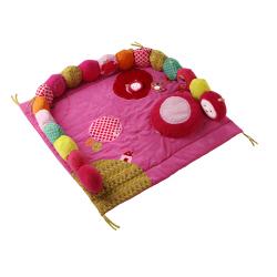 86289 Божья коровка Лиза: развивающий коврик в кроватку, фото
