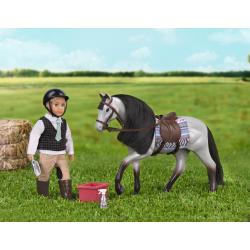 """Лошадь породы """"Роанская голубая"""" с аксессуарами, фото , изображение 3"""