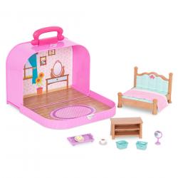"""Набор игровой """"Спальня"""" в чемоданчике, фото , изображение 2"""