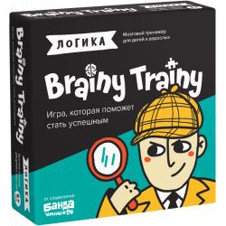 Игра-головоломка BRAINY TRAINY УМ266 Логика, фото