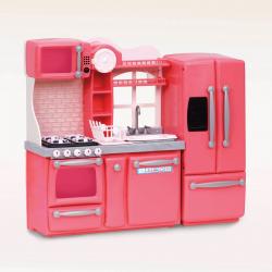 """Набор игровой """"Кухня"""" с аксессуарами; розовый, фото"""