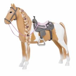 """Лошадь породы """"Паломино"""" 50 см с аксессуарами, фото"""
