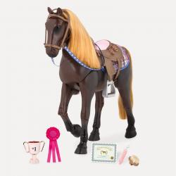 """Лошадь 50 см """"Американская Чистокровная"""" со сгибающимися суставами, фото"""