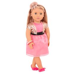 Кукла 46 см ДеЛюкс Аудра с украшениями, фото