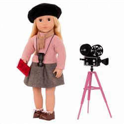 Кукла 46 см Кэтлин-режиссер; серия Профессии, фото