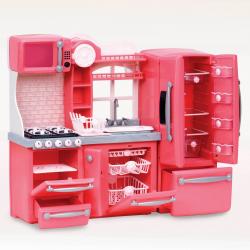 """Набор игровой """"Кухня"""" с аксессуарами; розовый, фото , изображение 2"""