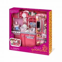 """Набор игровой """"Кухня"""" с аксессуарами; розовый, фото , изображение 7"""