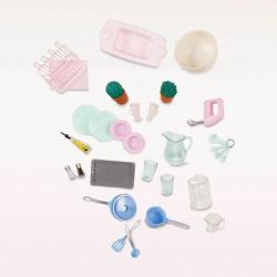 """Набор игровой """"Кухня"""" с аксессуарами; розовый, фото , изображение 6"""