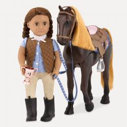 """Лошадь 50 см """"Американская Чистокровная"""" со сгибающимися суставами, фото , изображение 4"""