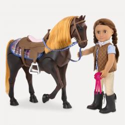 """Лошадь 50 см """"Американская Чистокровная"""" со сгибающимися суставами, фото , изображение 6"""