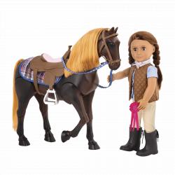 """Лошадь 50 см """"Американская Чистокровная"""" со сгибающимися суставами, фото , изображение 2"""