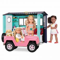 Джип для куклы 46 см с настоящим FM-радио, фото , изображение 11