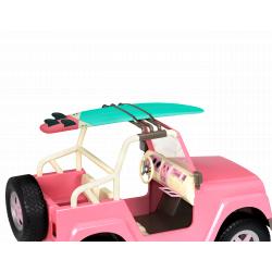 Джип для куклы 46 см с настоящим FM-радио, фото , изображение 2