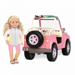 Джип для куклы 46 см с настоящим FM-радио, фото , изображение 17