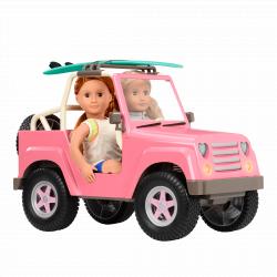 Джип для куклы 46 см с настоящим FM-радио, фото , изображение 18