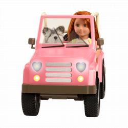 Джип для куклы 46 см с настоящим FM-радио, фото , изображение 4