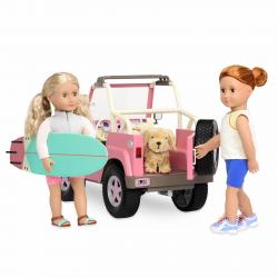 Джип для куклы 46 см с настоящим FM-радио, фото , изображение 19
