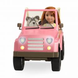 Джип для куклы 46 см с настоящим FM-радио, фото , изображение 20