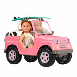 Джип для куклы 46 см с настоящим FM-радио, фото , изображение 5
