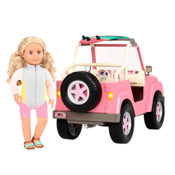 Джип для куклы 46 см с настоящим FM-радио, фото , изображение 22