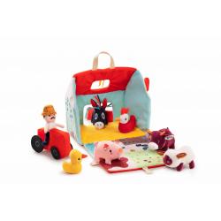 """86791 Набор мягких игрушек """"На ферме"""", фото"""