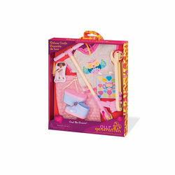 """Комплект одежды ДеЛюкс """"Путешественница"""" с разноцветным самокатом, фото , изображение 6"""