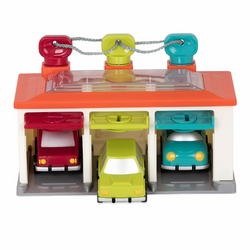 Гараж и 3 машинки, фото , изображение 2