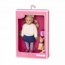 Кукла 15 см Лилит с кошкой Кловер, фото , изображение 4