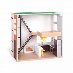 Дом для куклы с аксессуарами; пластмассовый, фото , изображение 2